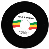 SALE ITEM - Ali Roots- Empathy / Version (Mad  & Dread) 7""